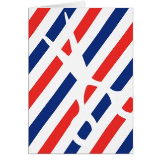 Barber Scissors Card