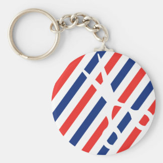 Barber Scissors Key Ring