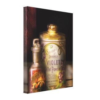 Barber -  Sharp & Dohme's Violet Toilet Powder  Stretched Canvas Print