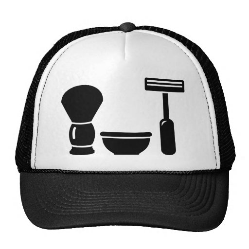 Barber shaving equipment hat
