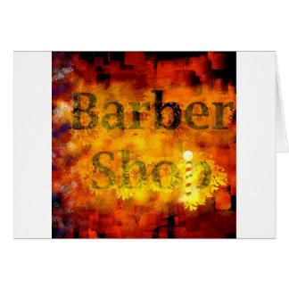 Barber Shop Cards