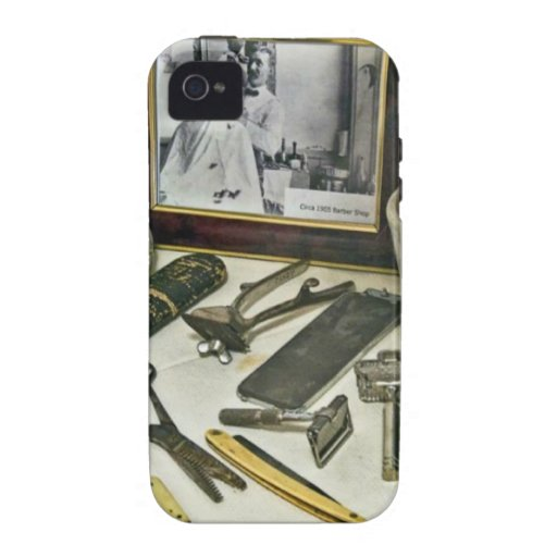 Barber Shop iPhone 4 Covers