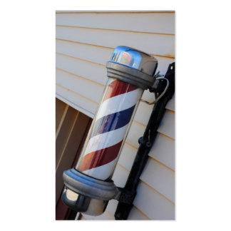 Barber Shop Pole Business Cards