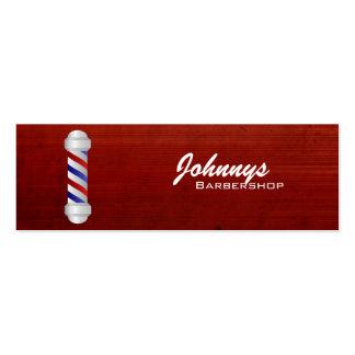 Barber Shop Skinny Business Cards