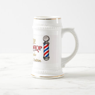 Barber Shop Stein Mug