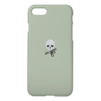 Barber skull iPhone 7 case