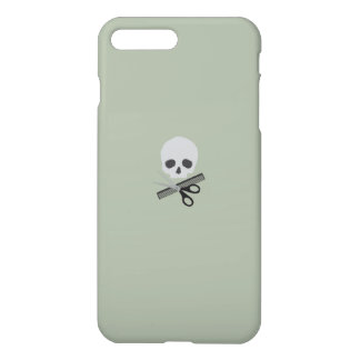 Barber skull iPhone 7 plus case