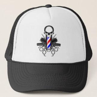 Barber Skull: Tools of the Trade Trucker Hat