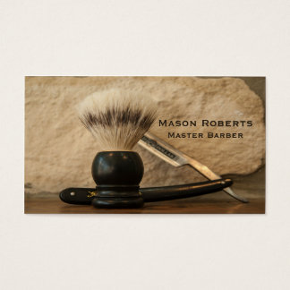 Barber Straight Edge Razor Shaving Brush