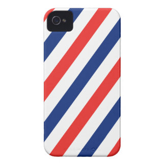 Barber Stripes iPhone 4 Case-Mate Case