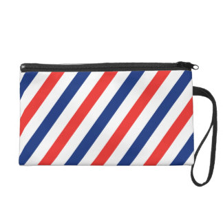 Barber Stripes Wristlet