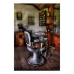 Barber - The Barber Chair Poster