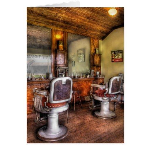 Barber - The Barber Shop II Greeting Cards