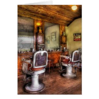 Barber - The Barber Shop II Greeting Card