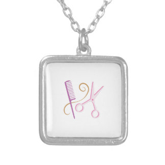 Barber Tools Personalized Necklace
