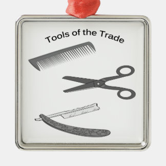 Barber Tools of The Trade Christmas Ornament