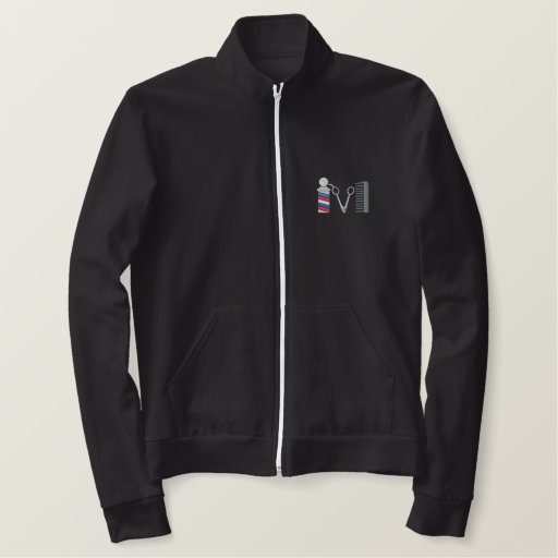 Barber Topper Embroidered Jackets