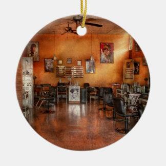 Barber - Union, NJ - The modern salon Christmas Ornament
