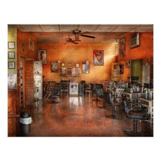 Barber - Union NJ - The modern salon Flyer