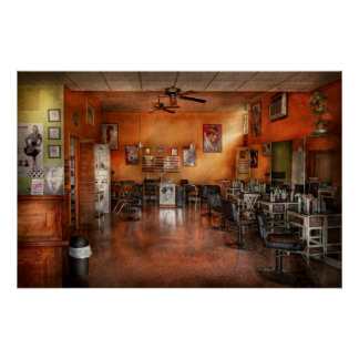 Barber - Union, NJ - The modern salon Print