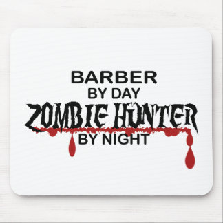 Barber Zombie Hunter Mousepads