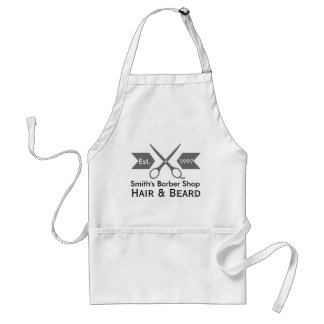 Barbers Favorite Barber Apron with Customized Logo