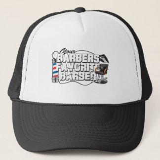 Barbers Favorite Barber Trucker Hat
