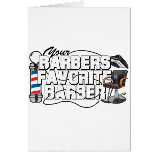 Barbers Favourite Barber Cards
