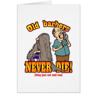 Barbers Greeting Card