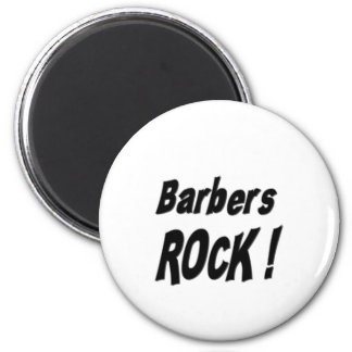 Barbers Rock! Magnet