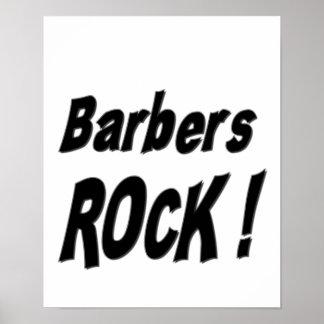 Barbers Rock! Poster Print