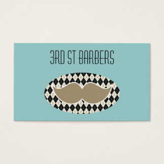 Barbers Shop business card, 2 sided Business Card