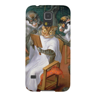 Barber's shop with Monkeys and Cats Galaxy S5 Cover