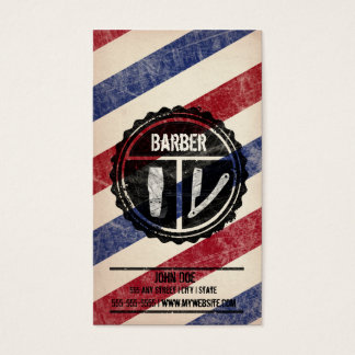 Barbershop Business Card
