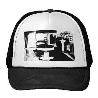 barbershop chair cap