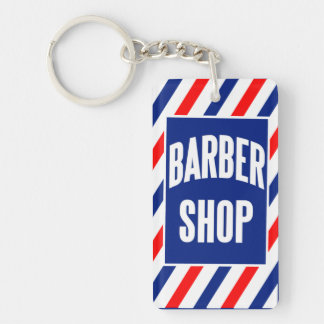 Barbershop Key Ring