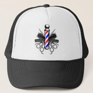 Barbershop Logo Trucker Hat