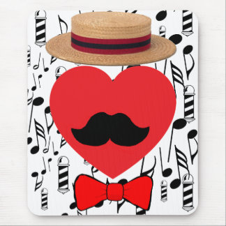 Barbershop Lover Mouse Pad