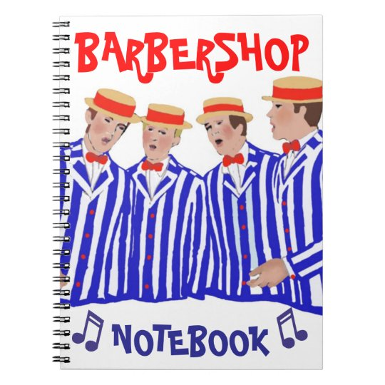 "Barbershop ""Notebook"" Notebook"