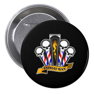 Barbershop Quartet: Barbers Rock 7.5 Cm Round Badge