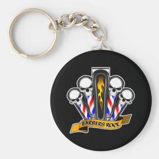 Barbershop Quartet: Barbers Rock Key Ring