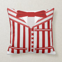 Barbershop Quartet Dapper Living Cushion