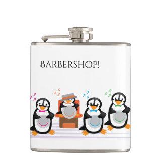 Barbershop Quartet Flask