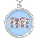 Barbershop Quartet Music Jewellery Gift Pendants