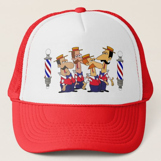 Barbershop Quartet Trucker Hat