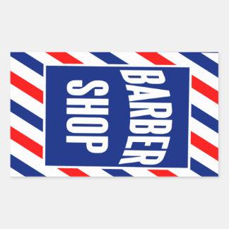 Barbershop Rectangular Sticker