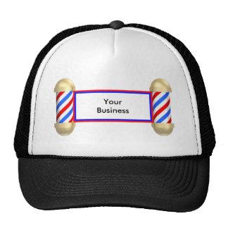 Barbershop scroll cap