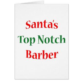 BarberTop Notch Card