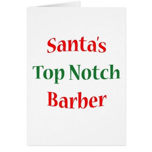 BarberTop Notch Greeting Cards