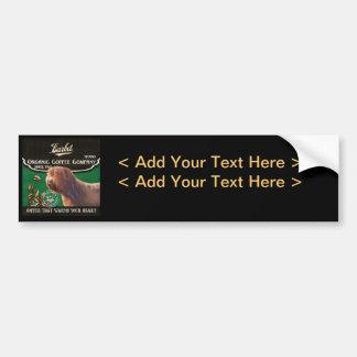 Barbet Brand – Organic Coffee Company Bumper Sticker